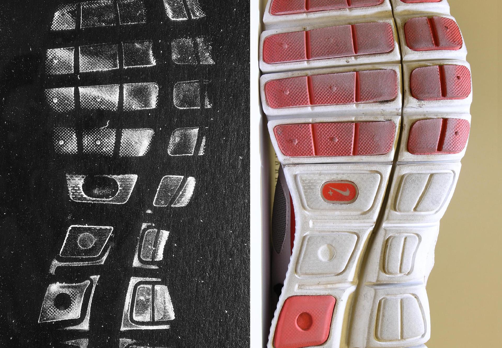 shoe print comparison